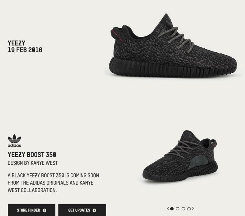 Adidas Confirms Black Yeezy Boost 350