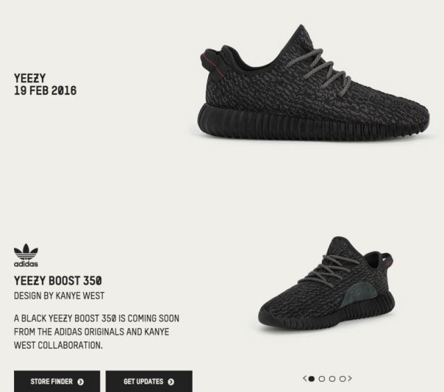 best service 648a8 4b336 Adidas Confirms Black Yeezy Boost 350 Restock